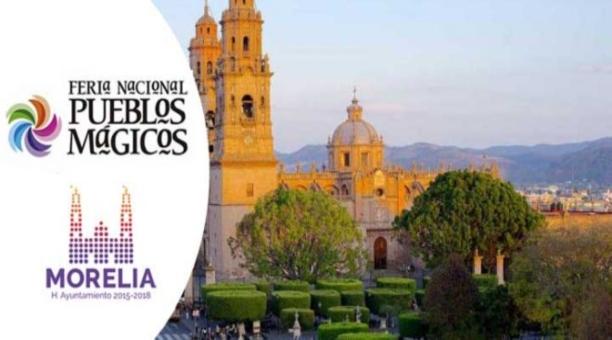 5ta feria nacional de Pueblos Mágicos en Morelia, Michoacan 2018